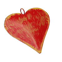 Red Heart Wall Hanging