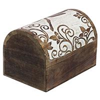 Trunk-Shaped Jewelry Box