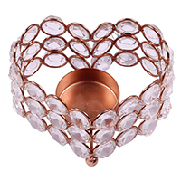 Heart Shaped Tea-Light Candle Holder